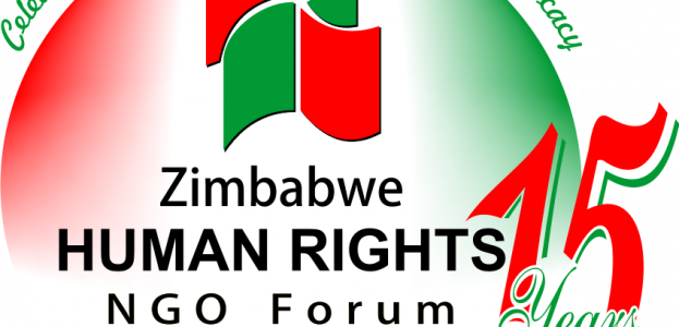 The NGO Forum logo to celebrate the 15th Anniversary